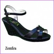 Босоножки женские Zemfira черный фото