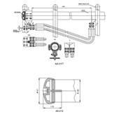 Зажим аппаратный с компенсатором расширения АА-211 фото