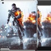 Чехол на iPad 2/3/4 Battlefield - бегущий 153c-25 фото