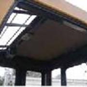 Прозрачная крыша для погрузчика фото