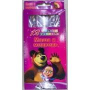 Цветные карандаши Маша и Медведь JQ8012 фото