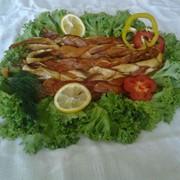 Брюшки лосося х/к фото
