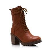 Ботинки на устойчивом каблуке Breckelle's фото