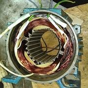 Ремонт и Перемотка промышленных электродвигателей в Алматы. фото
