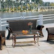 Комплект садовой мебели из искусственного ротанга Sim Орфей фото