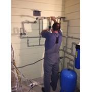 Проектирование, монтаж систем очистки воды фото