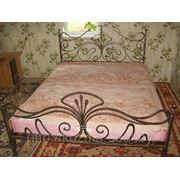 Кованная кровать фото