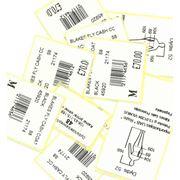 Самоклеящиеся бумажные этикетки фото