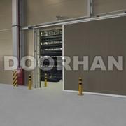 Противопожарные сдвижные ворота DoorHan фото