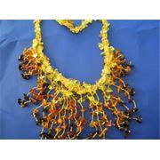 Ожерелье янтарное NM038 фото