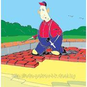 Плитка тротуарная (30 видов), бордюр, облицовочный камень, забор, и другие изделия из бетона. фото
