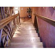Лестницы дубовые фото