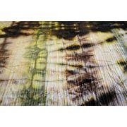 Бархат-стрейч мраморный, крэш, зеленые тона фото