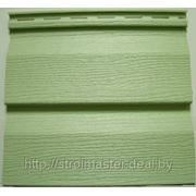 Сайдинг виниловый ю-пласт, зелёный, 0,255*3,4 фото