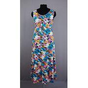 Платье трикотажное фото