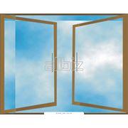 Окна вертикальные распашные фото