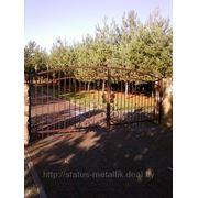 Ворота кованые ВК1 фото