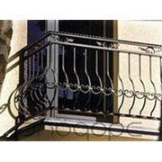 Кованные ограждения балконов фото