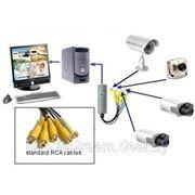 Бюджетная система видеонаблюдения K-02 («Эконом») фото