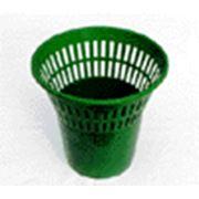 Пластмассовая корзина для бумаг фото