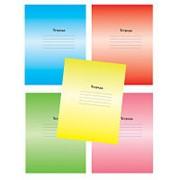 Тетрадь школьная А5,18л,линия Градиент, 5цветов ТШ18К6183 фото