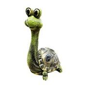 Садовая фигура Черепаха пучеглазая фото