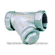 Фильтр осадочный сетчатый муфтовый для воды Ду15 Ру20 нержавейка (Genebre) Испания фото