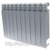 Алюминиевый радиатор для систем отопления (межосевое расстояние 500 мм) фото