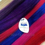 Цветные волосы для наращивания 60 см фото