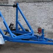 Транспортер кабельный КТ 2 (кабелеукладчик, кабелевоз) фото