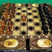 Нарды-шахматы эксклюзивные фото