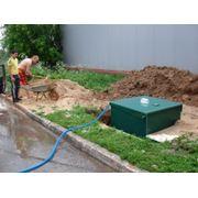 Монтаж автономных канализации фото