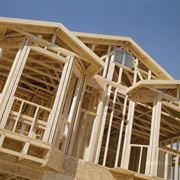 Строительство каркасных быстровозводимых домов фото