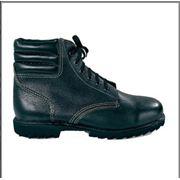 Ботинки комбинированные п/у литье мягкий кант фото