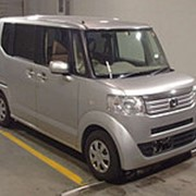 Микровэн HONDA N BOX кузов JF1 класса минивэн модификация G год выпуска 2012 пробег 199 т.км серебристый фото