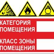 Расчет категорий помещений по пожарной и взрывопожарной опасности фото