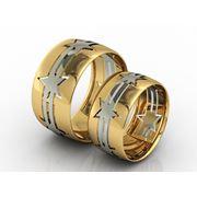 Обручальные кольца из золота 585 пробы фото