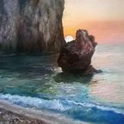 """Картина маслом """"Морской пейзаж"""" фото"""