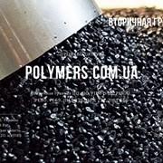Вторичная гранула полистирол УПМ. Вторичная гранул фото