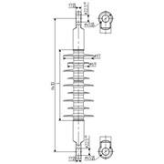 Изолятор НСПКр 120-3/0,6-Б фото
