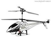 """Вертолет Mioshi Tech """"IR-208, серый"""" (р/у, 3,5 канала, длина 42 см, гироскоп) фото"""