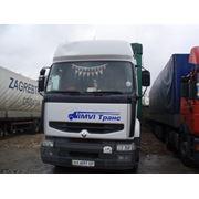 Международные грузовые перевозки. фото
