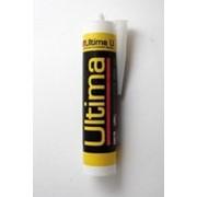 Герметик Ultima U силиконовый белый универсальный 280мл. 0801 /12/ фото