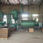 Установка оборудования по производству брикета из соломы фото