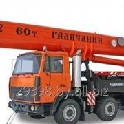 Услуги автокрана грузоподъемностью 60 тонн в Гродно фото