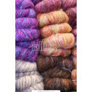 Смесовая пряжа для ткацкой и трикотажной промышленности фото