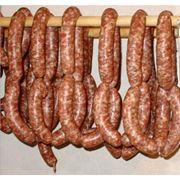 Колбаса полукопченая «Краковская» фото