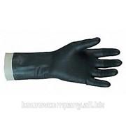 Перчатки кислотно-щелочестойкие КЩС фото
