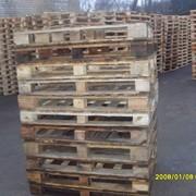 Поддоны деревянные (120х80) б/у фото