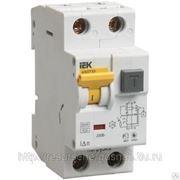 Автоматический выключатель дифференциального тока 1п+N 2мод.C 16A 30mA тип фото